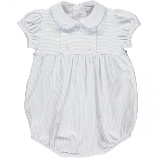 Amaia Kids - Babydoll all in one - White アマイアキッズ - ベビーロンパース