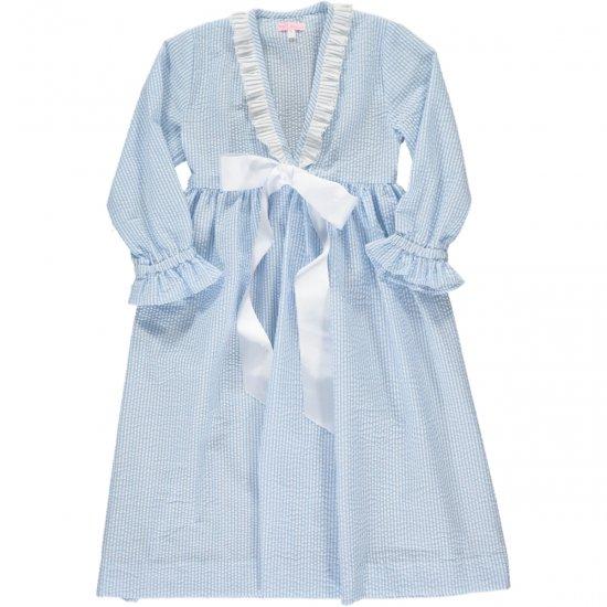 Amaia Kids - Eugenia Nightdress アマイアキッズ - ナイトガウン(Blue)