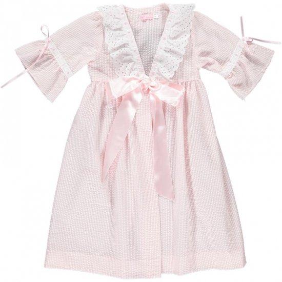 Amaia Kids - Eugenia Nightdress アマイアキッズ - ナイトガウン(Pink)