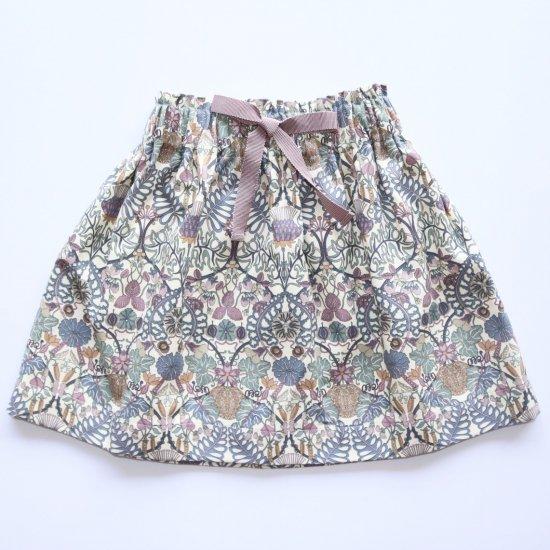 Amaia Kids - Anna skirt - Liberty mauve アマイアキッズ - リバティプリントスカート