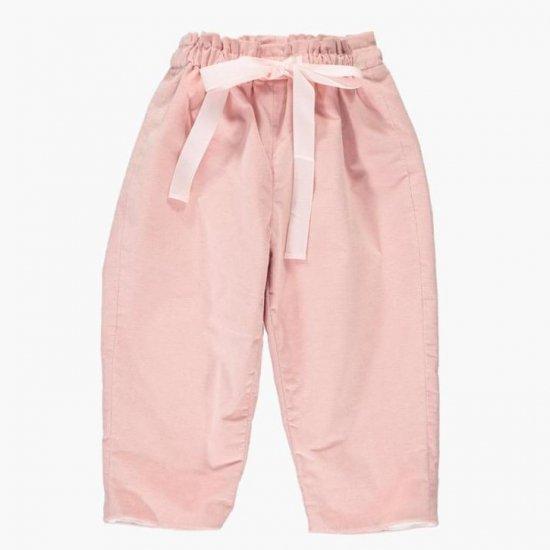 Amaia Kids - Tito trousers - Pink アマイアキッズ - コーデュロイパンツ