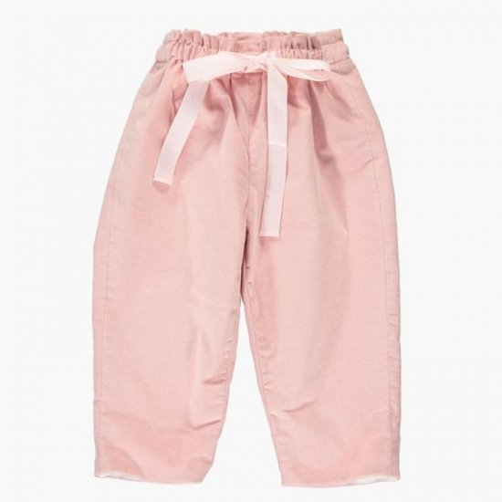 <img class='new_mark_img1' src='https://img.shop-pro.jp/img/new/icons14.gif' style='border:none;display:inline;margin:0px;padding:0px;width:auto;' />Amaia Kids - Tito trousers - Baby pink アマイアキッズ - コーデュロイパンツ