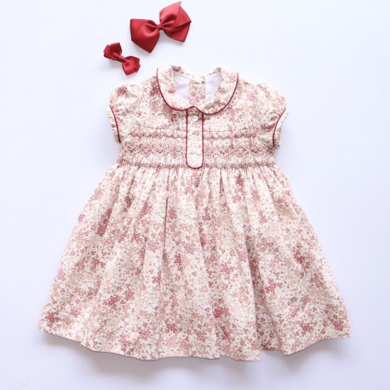 Amaia Kids - Marion dress アマイアキッズ - 花柄ワンピース