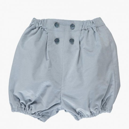 Amaia Kids - Magpie bloomer - Dusty blue アマイアキッズ - コーデュロイブルマ