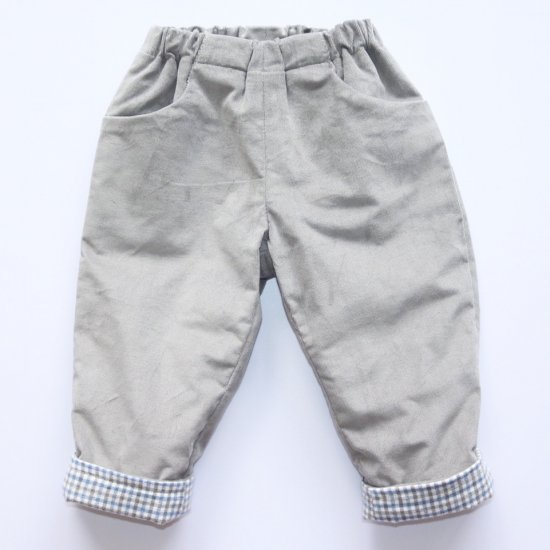 <img class='new_mark_img1' src='https://img.shop-pro.jp/img/new/icons20.gif' style='border:none;display:inline;margin:0px;padding:0px;width:auto;' />【50%OFF】Amaia Kids - Tito trousers - Grey アマイアキッズ - コーデュロイパンツ