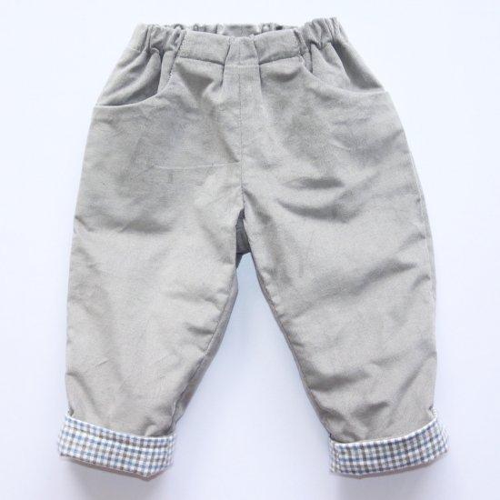 Amaia Kids - Tito trousers - Grey アマイアキッズ - コーデュロイパンツ