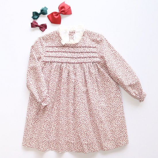 <img class='new_mark_img1' src='https://img.shop-pro.jp/img/new/icons20.gif' style='border:none;display:inline;margin:0px;padding:0px;width:auto;' />【40%OFF】Amaia Kids - Villa dress - Cherry アマイアキッズ- チェリー柄ワンピース