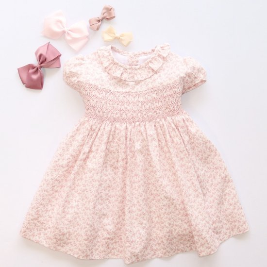 <img class='new_mark_img1' src='https://img.shop-pro.jp/img/new/icons20.gif' style='border:none;display:inline;margin:0px;padding:0px;width:auto;' />【30%OFF】Amaia Kids - Moohren dress - Pink floral アマイアキッズ - 花柄ワンピース
