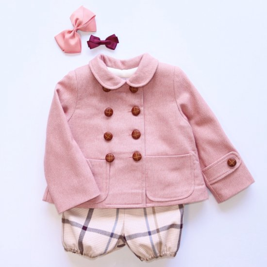 <img class='new_mark_img1' src='https://img.shop-pro.jp/img/new/icons20.gif' style='border:none;display:inline;margin:0px;padding:0px;width:auto;' />【50%OFF】Amaia Kids - Isee jacket - Pink アマイアキッズ - ジャケット