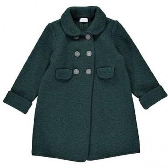 <img class='new_mark_img1' src='https://img.shop-pro.jp/img/new/icons14.gif' style='border:none;display:inline;margin:0px;padding:0px;width:auto;' />Amaia Kids - Razorbil coat - Green アマイアキッズ - ウールコート