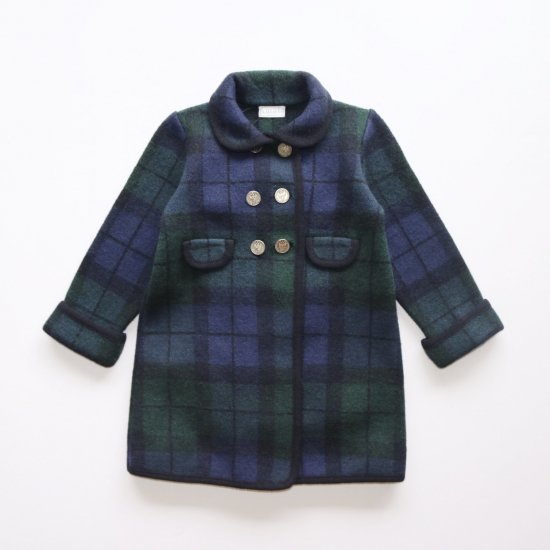 <img class='new_mark_img1' src='https://img.shop-pro.jp/img/new/icons14.gif' style='border:none;display:inline;margin:0px;padding:0px;width:auto;' />Amaia Kids - Razorbil coat - Tartan アマイアキッズ - ウールコート