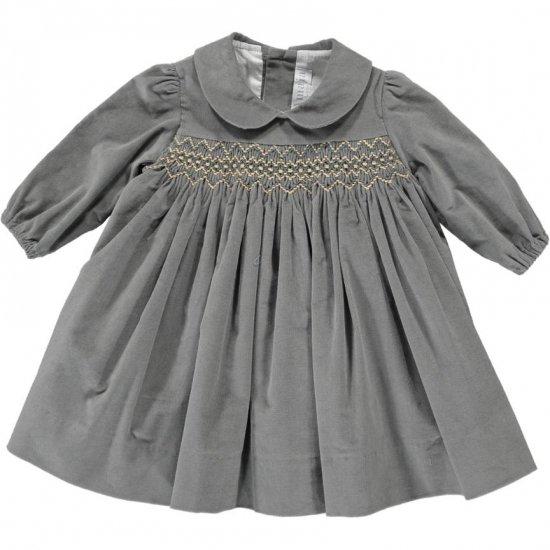 Amaia Kids - Melly dress アマイアキッズ - スモッキング刺繍ワンピース