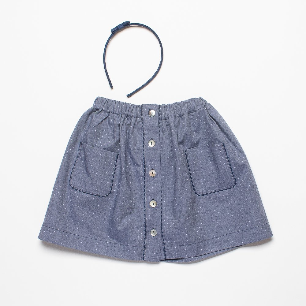 <img class='new_mark_img1' src='https://img.shop-pro.jp/img/new/icons14.gif' style='border:none;display:inline;margin:0px;padding:0px;width:auto;' />Amaia Kids - Juliette skirt - Polka  dots アマイアキッズ - 水玉スカート