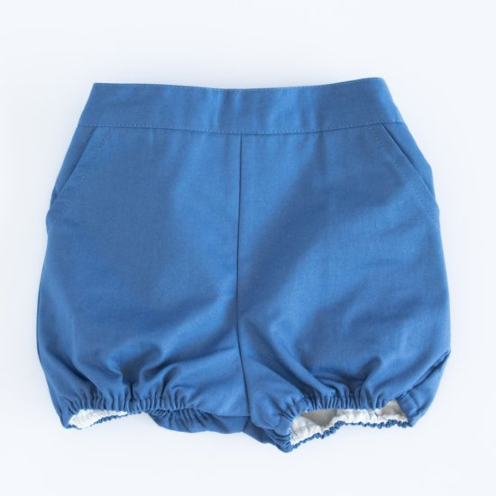 Amaia Kids - Magpie bloomer - Blue アマイアキッズ - ブルマ