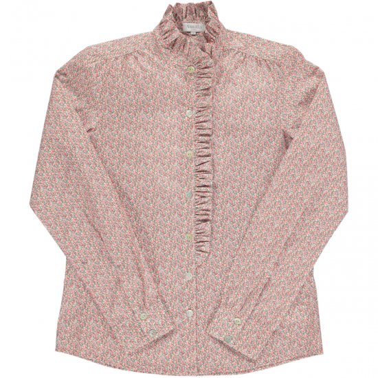 <img class='new_mark_img1' src='https://img.shop-pro.jp/img/new/icons14.gif' style='border:none;display:inline;margin:0px;padding:0px;width:auto;' />Amaia Kids - The Duchess Liberty pepper pink blouse - Mum アマイアキッズ - リバティプリントプリンセスブラウス婦人用