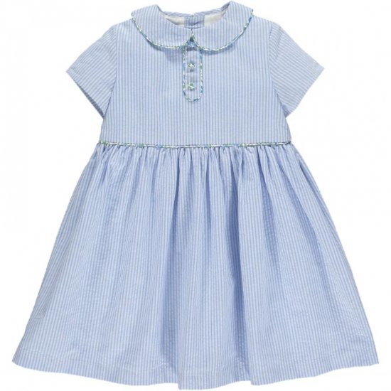 <img class='new_mark_img1' src='https://img.shop-pro.jp/img/new/icons14.gif' style='border:none;display:inline;margin:0px;padding:0px;width:auto;' />Amaia Kids - Bristol dress - Liberty piping アマイアキッズ - リバティパイピングワンピース