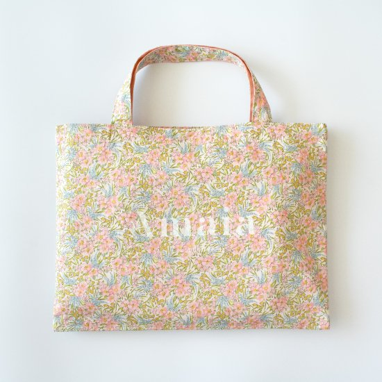 <img class='new_mark_img1' src='https://img.shop-pro.jp/img/new/icons14.gif' style='border:none;display:inline;margin:0px;padding:0px;width:auto;' />Amaia Kids - Liberty floral bag アマイアキッズ - リバティプリント花柄ピンクバッグ