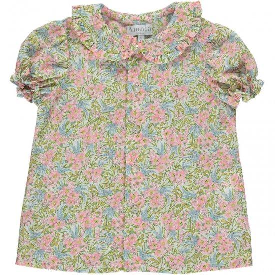 Amaia Kids - Gaya top - Liberty floral アマイアキッズ - リバティプリントブラウス