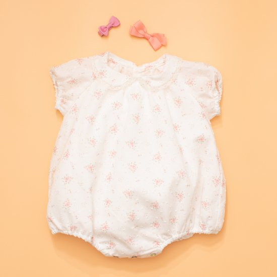 <img class='new_mark_img1' src='https://img.shop-pro.jp/img/new/icons14.gif' style='border:none;display:inline;margin:0px;padding:0px;width:auto;' />Amaia Kids - Bubblia romper - Mini flower アマイアキッズ - 花柄ロンパース