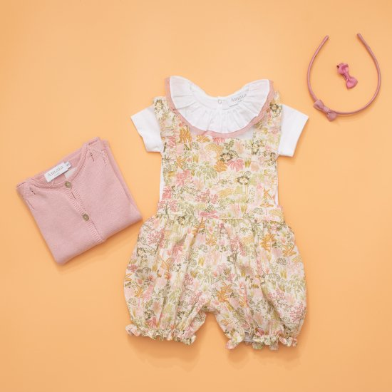 <img class='new_mark_img1' src='https://img.shop-pro.jp/img/new/icons20.gif' style='border:none;display:inline;margin:0px;padding:0px;width:auto;' />【40%OFF】Amaia Kids - Mini all in one アマイアキッズ - サロペット