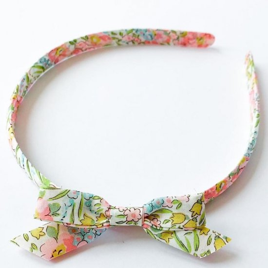 <img class='new_mark_img1' src='https://img.shop-pro.jp/img/new/icons14.gif' style='border:none;display:inline;margin:0px;padding:0px;width:auto;' />Amaia Kids - Hair Bands - Liberty Floral アマイアキッズ - リバティヘアバンド