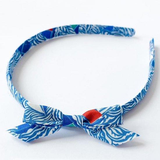 Amaia Kids - Hair Bands - Liberty Blue アマイアキッズ - リバティヘアバンド