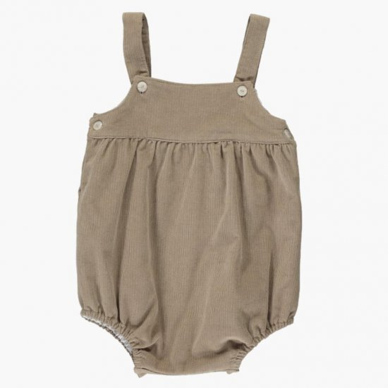 <img class='new_mark_img1' src='https://img.shop-pro.jp/img/new/icons14.gif' style='border:none;display:inline;margin:0px;padding:0px;width:auto;' />Amaia Kids - Boule romper - Beige アマイアキッズ - コーデュロイサロペット