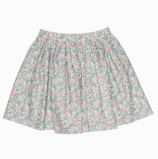 <img class='new_mark_img1' src='https://img.shop-pro.jp/img/new/icons14.gif' style='border:none;display:inline;margin:0px;padding:0px;width:auto;' />Amaia Kids - Polly skirt - Liberty Pink/Green アマイアキッズ - リバティプリントスカート