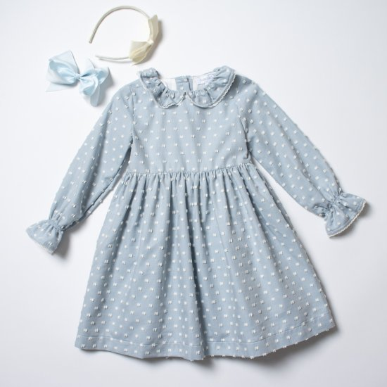 <img class='new_mark_img1' src='https://img.shop-pro.jp/img/new/icons14.gif' style='border:none;display:inline;margin:0px;padding:0px;width:auto;' />Amaia Kids - Lana dress - Sky blue アマイアキッズ - ワンピース