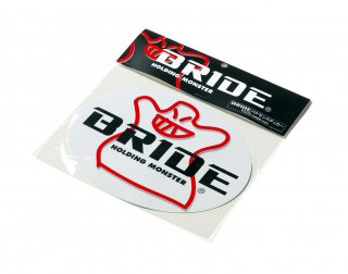 BRIDE 楕円ステッカー(HS0003)