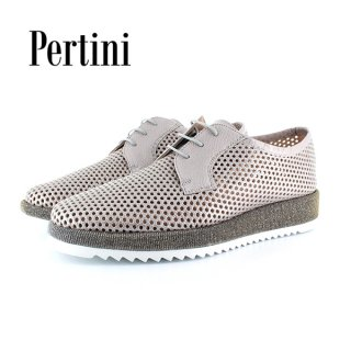 <img class='new_mark_img1' src='https://img.shop-pro.jp/img/new/icons24.gif' style='border:none;display:inline;margin:0px;padding:0px;width:auto;' />【30%OFF】Pertini/ペルティニ 181W14891 メッシュ外羽根レースアップシューズ