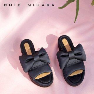 CHIE MIHARA<br>DREAMY<br>厚底リボンサンダル