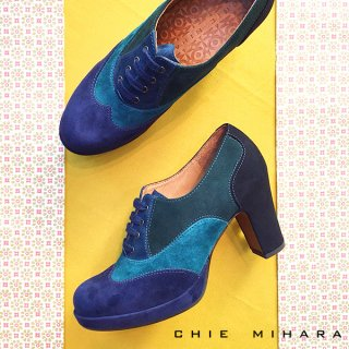 <img class='new_mark_img1' src='https://img.shop-pro.jp/img/new/icons20.gif' style='border:none;display:inline;margin:0px;padding:0px;width:auto;' />【50%OFF】CHIE MIHARA/チエミハラ<br>JUMPY<br>バイカラースエードブーティ