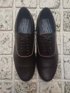 TRAVEL SHOES by chausser<br>MEN'S TR-001M / DBRN×BLK(ground別注)
