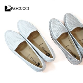 <img class='new_mark_img1' src='https://img.shop-pro.jp/img/new/icons24.gif' style='border:none;display:inline;margin:0px;padding:0px;width:auto;' />【20%OFF】PASCUCCI / 5113-846 / メッシュレザーフラットシューズ