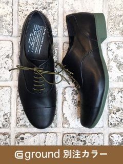 <img class='new_mark_img1' src='https://img.shop-pro.jp/img/new/icons5.gif' style='border:none;display:inline;margin:0px;padding:0px;width:auto;' />TRAVEL SHOES by chausser / TR-001 / ground別注カラーブラック x カーキ