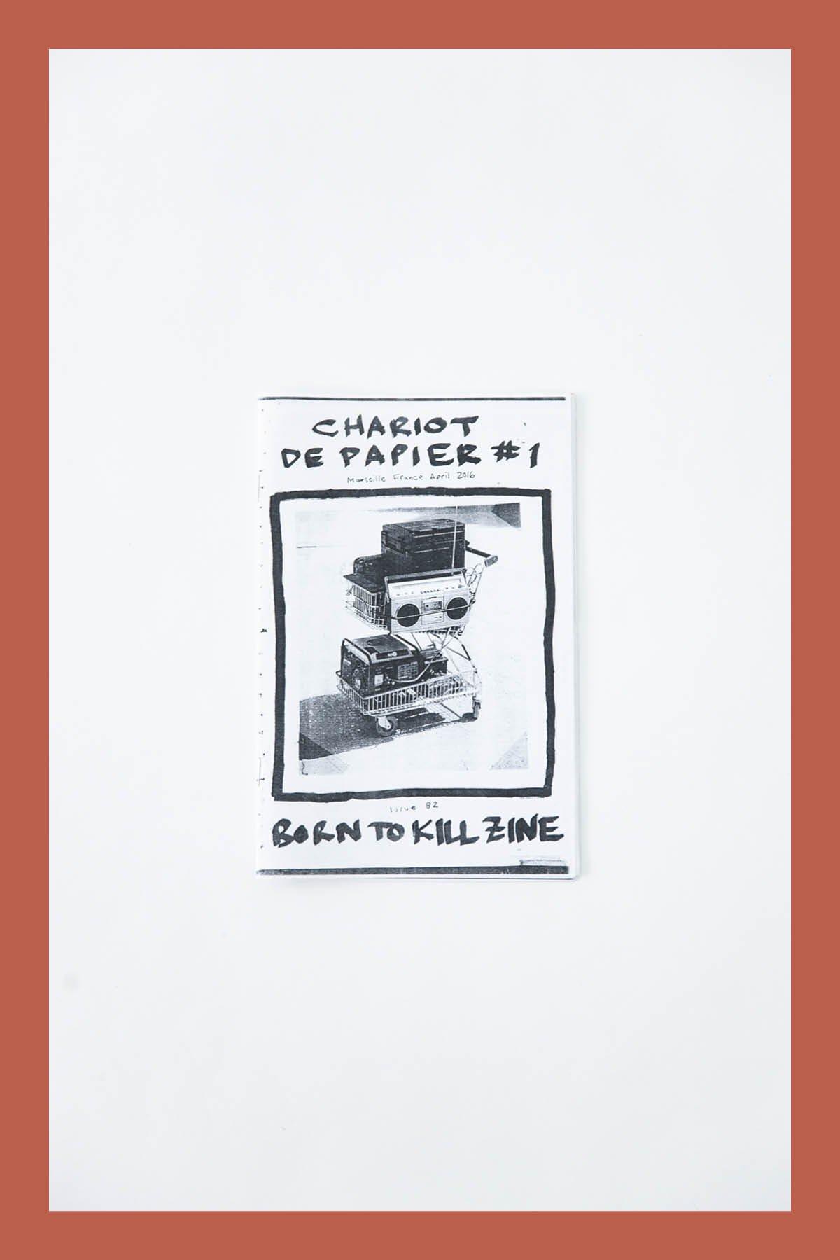 Pat McCarthy / BORN TO KILL ZINE #82