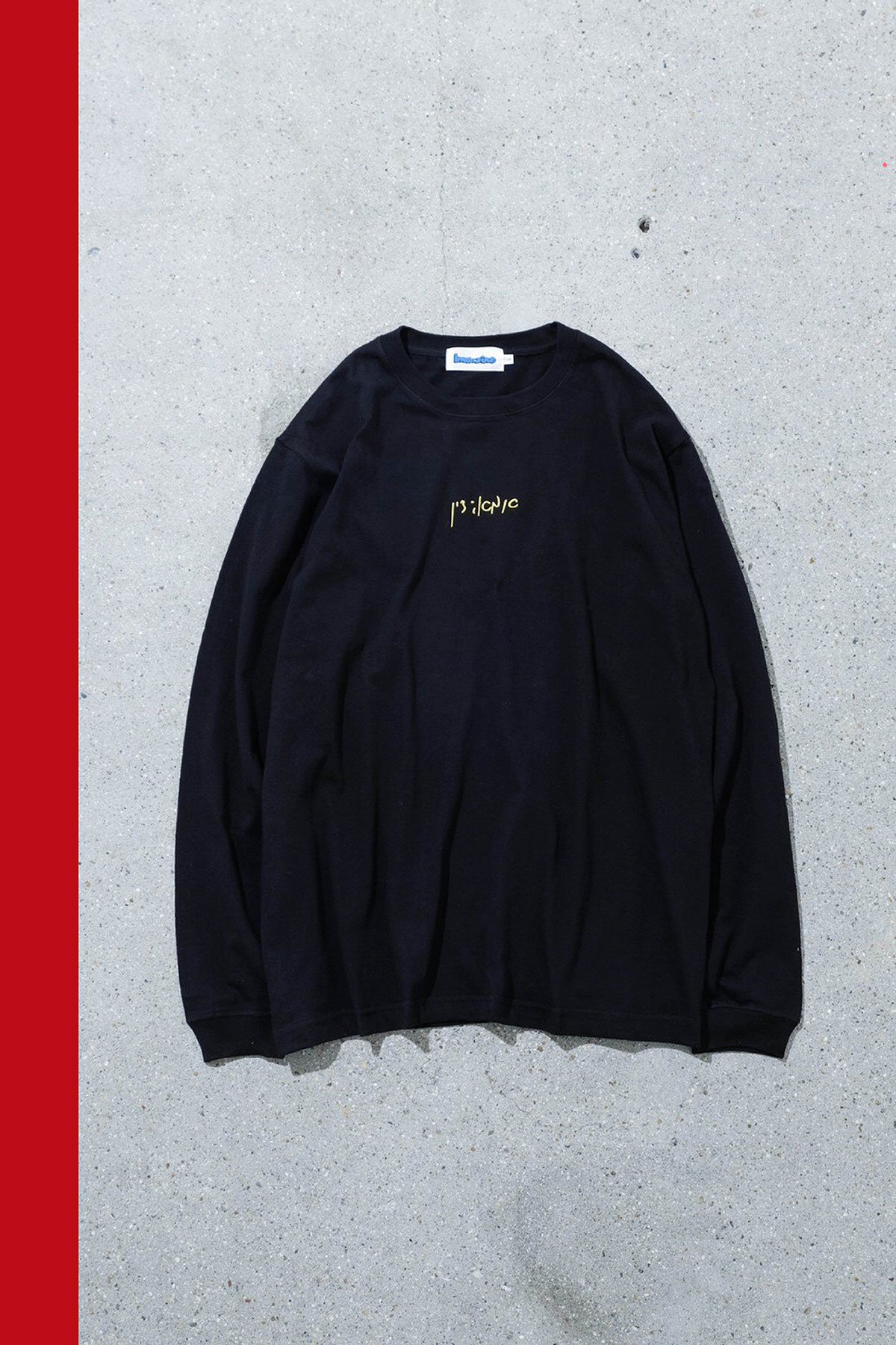 NOTeBOOK JOINT PROJECT / LONG SLEEVE T-SHIRT
