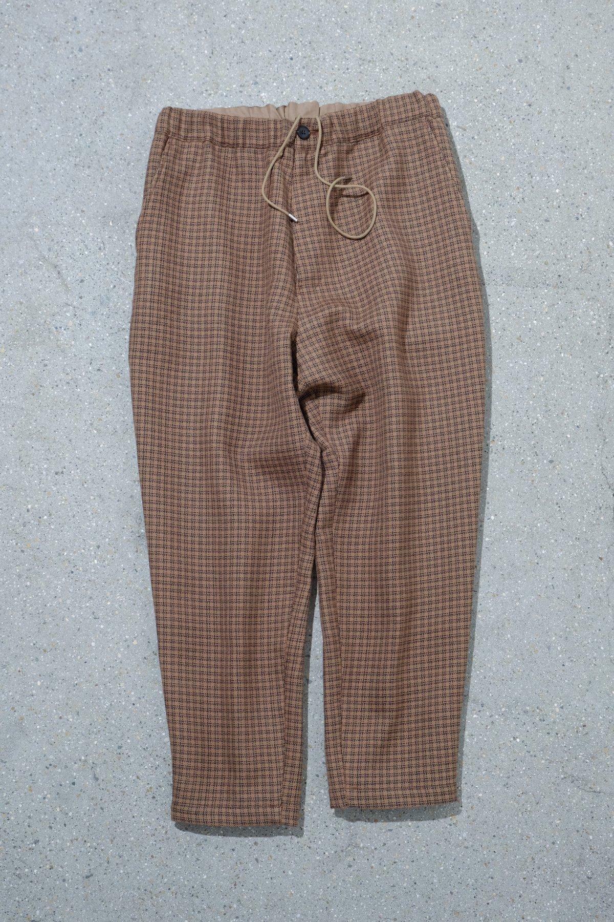 WELLDER / Drawstring Easy Trousers