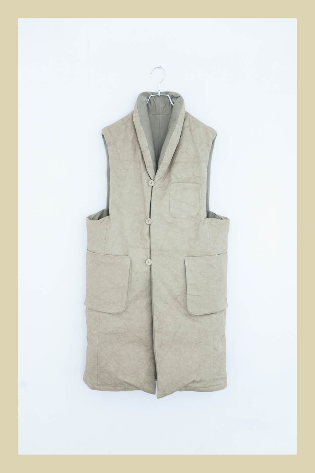 whowhat / DOWN VEST (LONG)