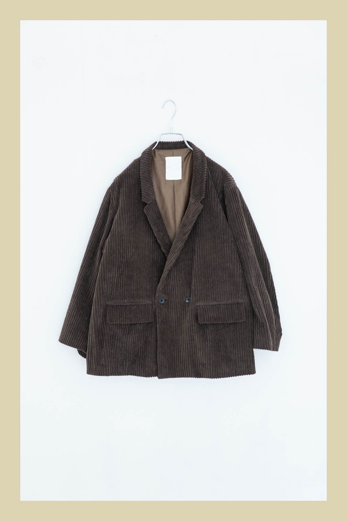whowhat / DOUBLE WIDE JKT