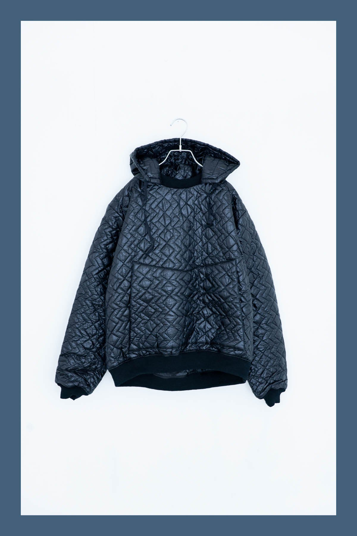 MONITALY / QUILTED HOODIE
