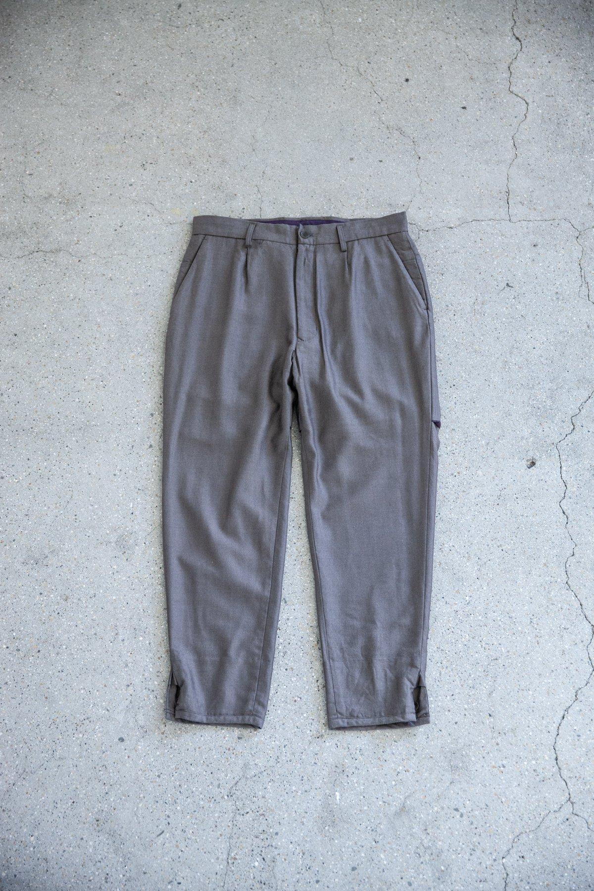 HOMELESS TAILOR / HIP GUSSET PANTS
