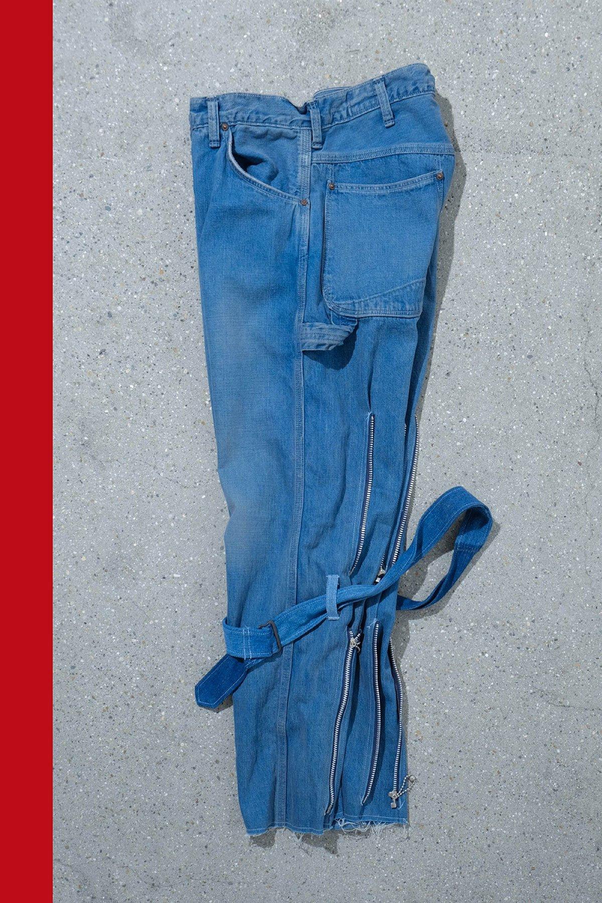 orslow × ink / BONDAGE PANTS(NAVY ZIP)