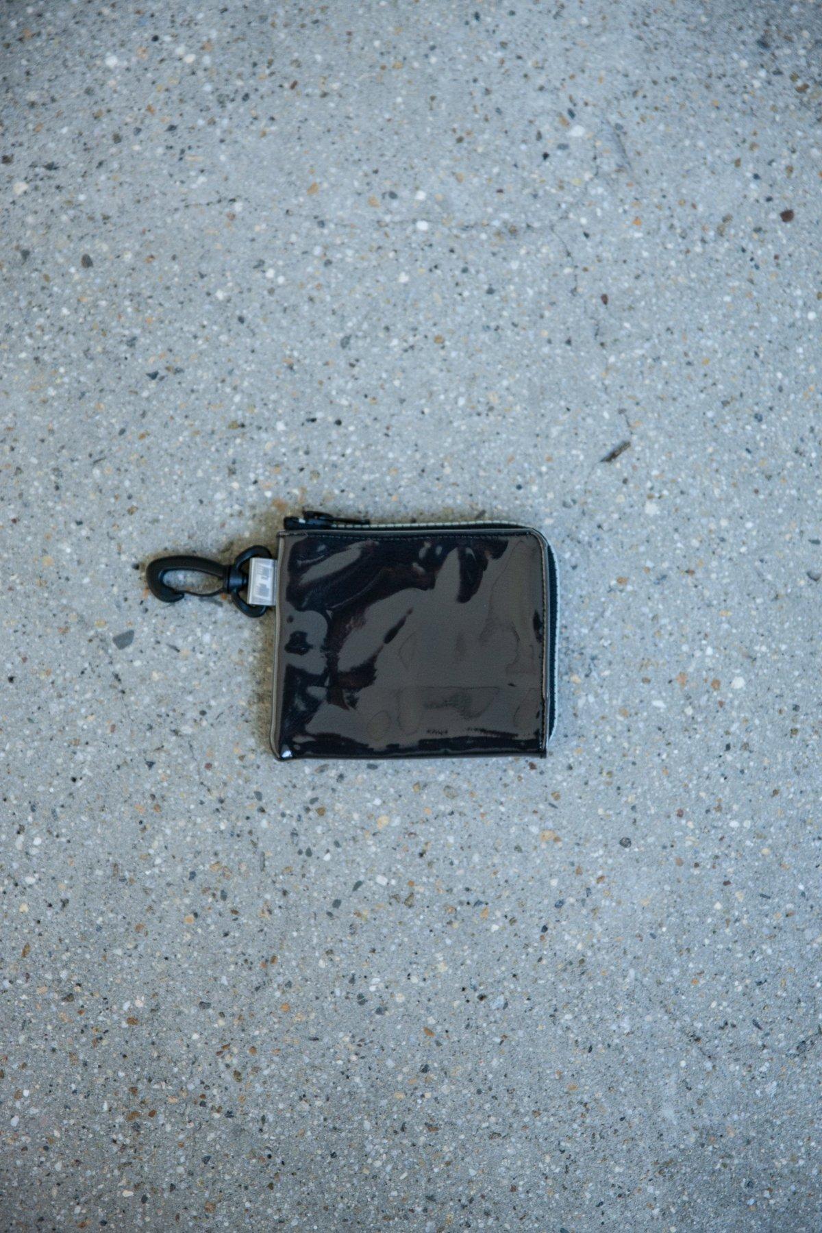 THISWAY / DEERSKIN PVC WALLET(BLACK)
