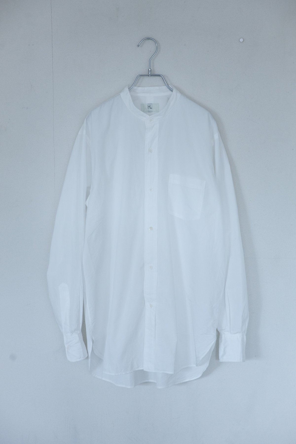 HERILL / Suvin Stand Coller Shirts