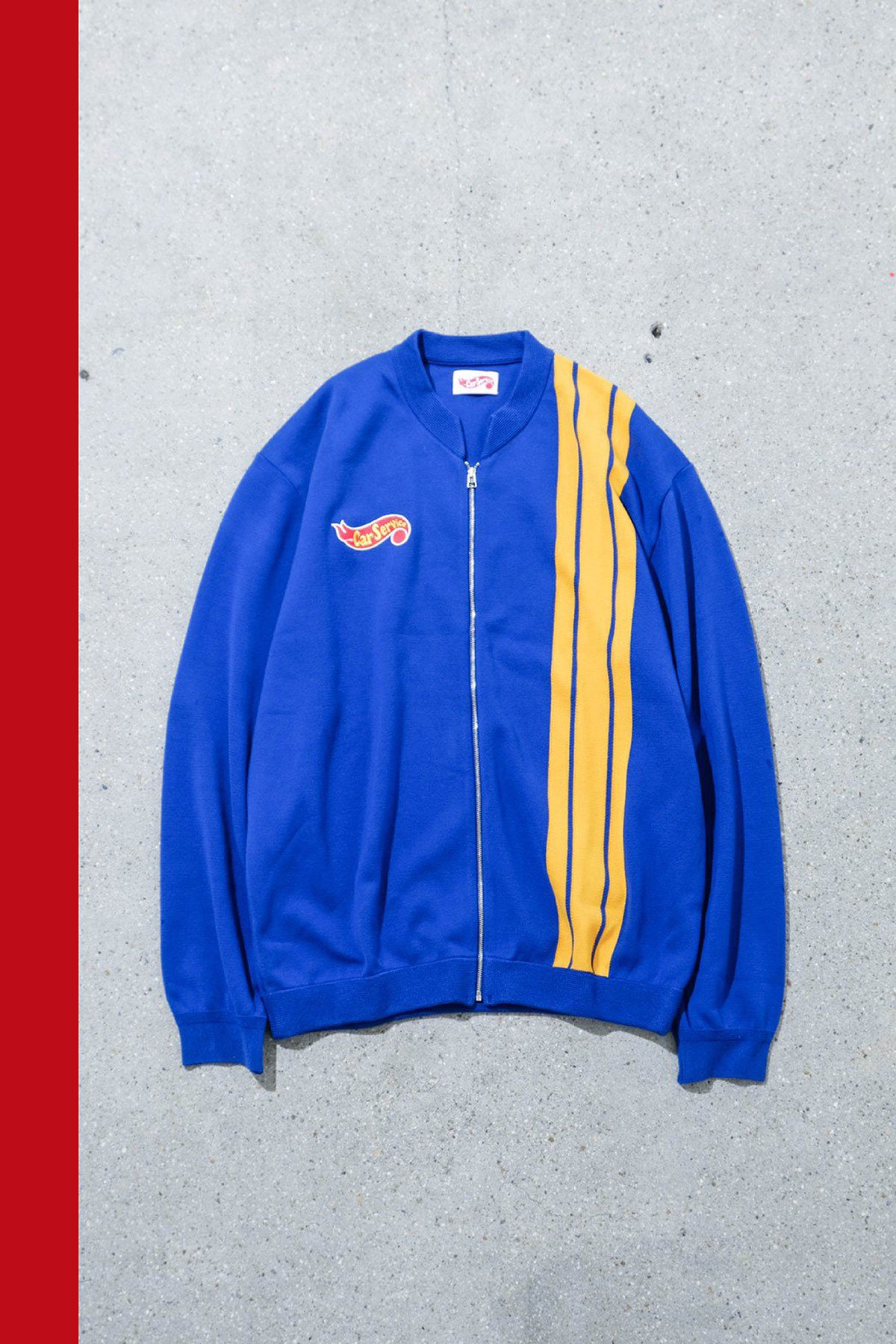 Carservice / Racing Knit Jacket BLUE