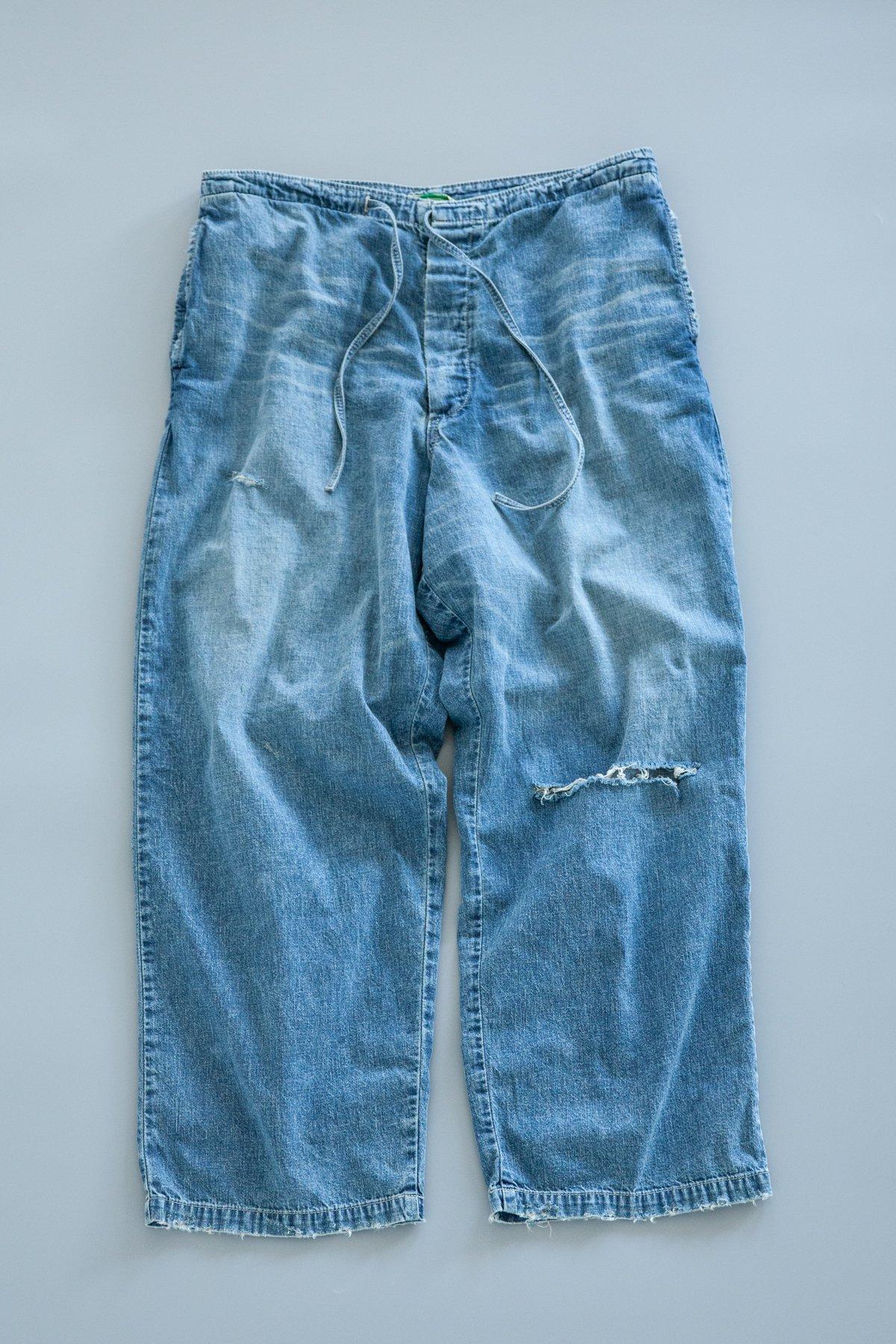 Zepanese Club × MexiPa / Denim Mexican Pants