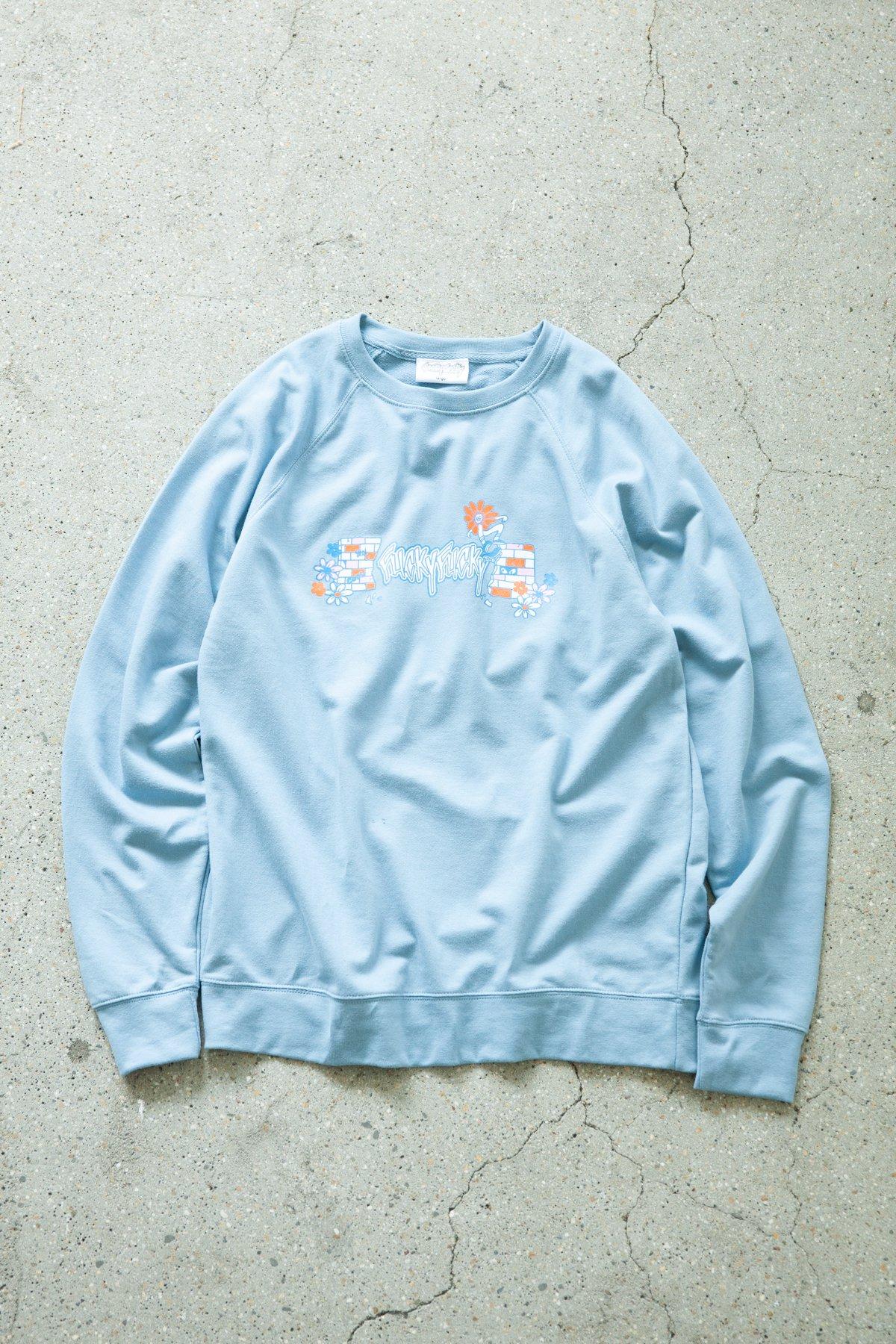FUCKYFUCKY × Toyameg / CREW SWEAT