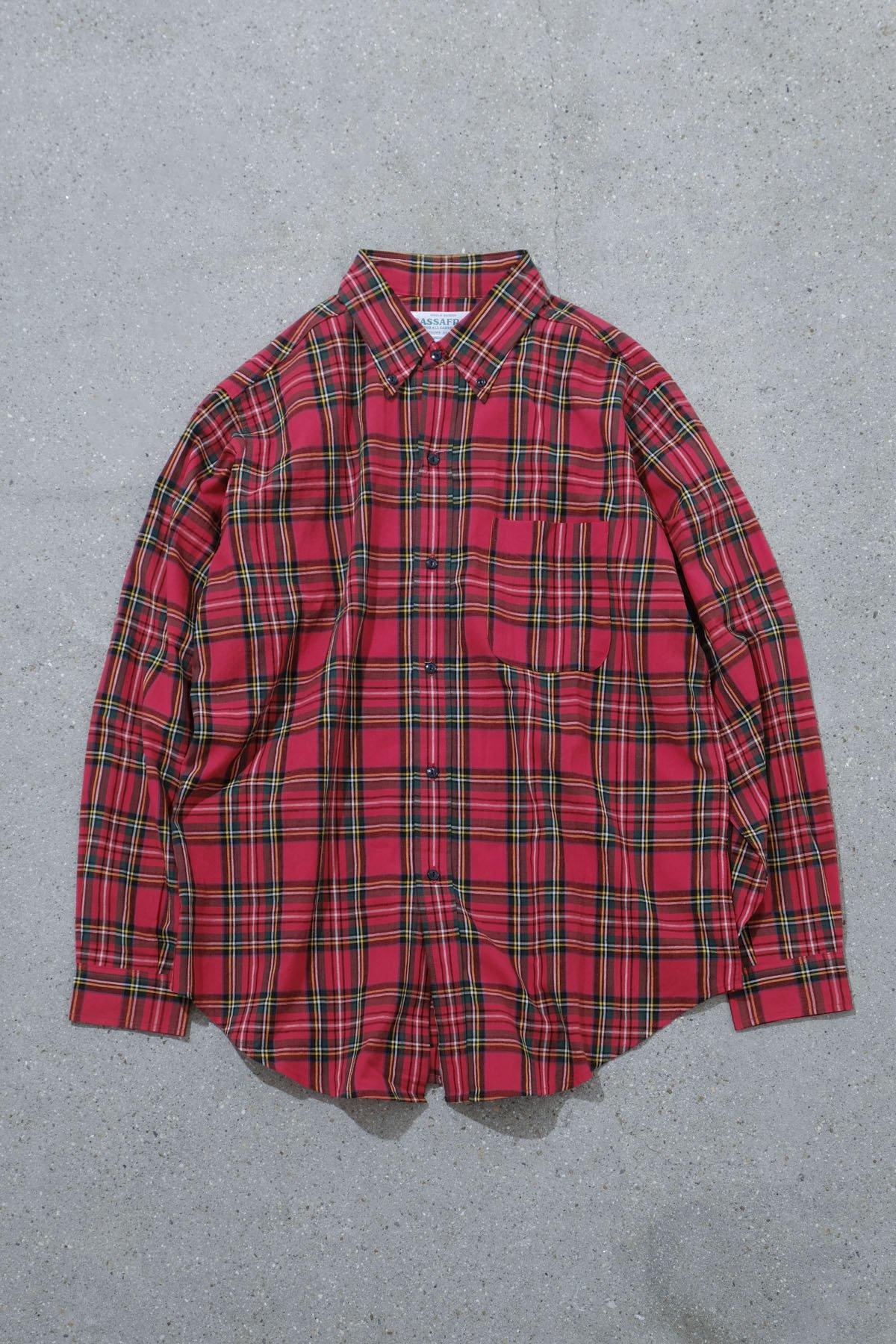 SASSAFRAS / Creen Thumb Shirt RED